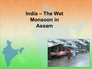 – The Wet India Monsoon in Assam