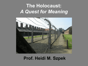 Life Before the Holocaust