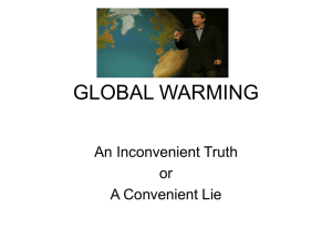 (new)GLOBAL WARMING