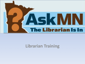 Librarian Training