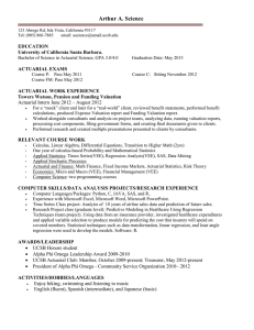 Sample Senior Resume