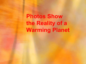 Photos Show the Reality of a Warming Planet