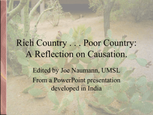 development and attitudes - from India