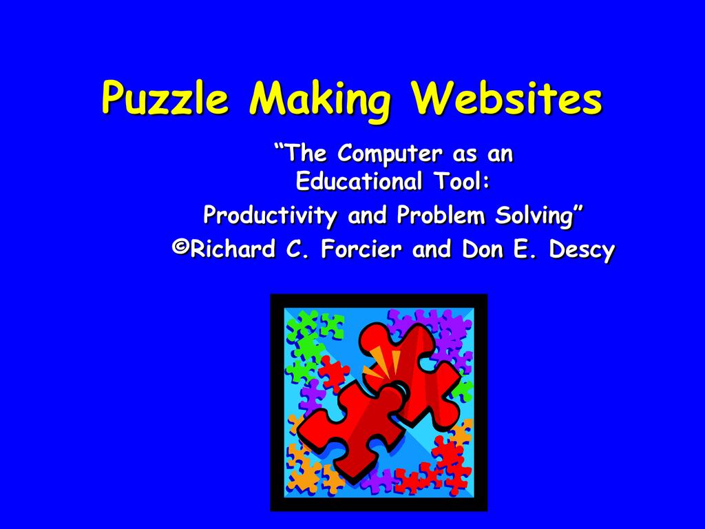 Puzzle Making Websites
