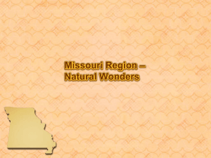 Missouri Natural Wonders