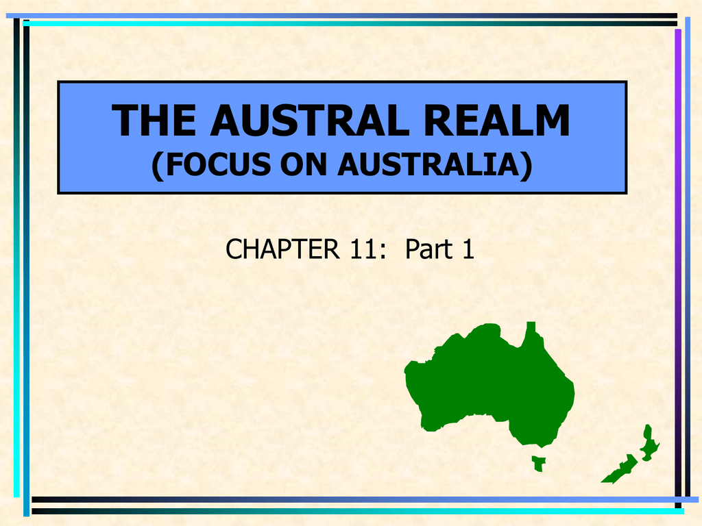 Australia New Zealand 1