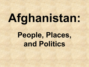Afghanistan (another Overview)