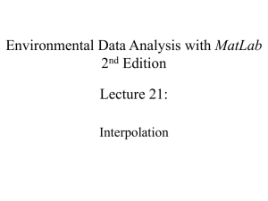 MatLab 2 Edition Lecture 21: