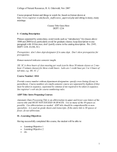 New Course Proposal Format (Microsoft Word Document)