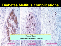 Complications of Dibetes