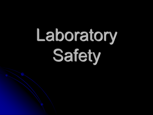 Lab Safety Training