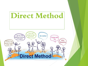 Technical Methods 406 -DM-