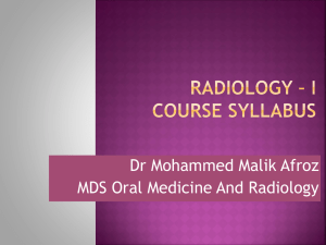 course schedule 223 mds