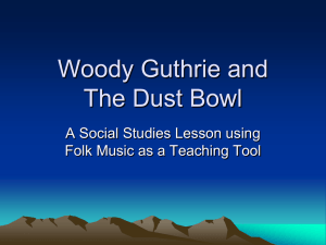 A Musical Introduction to the Dust Bowl.ppt