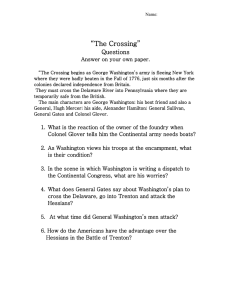 """The Crossing"" Questions"