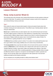 Hoop jump - Right or wrong? - Activity 2 - Lesson element (DOCX, 147KB) Updated 29/02/2016