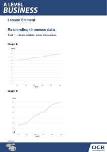 Responding to unseen data - Graphs - Activity - Lesson element (DOCX, 273KB) Updated 29/02/2016