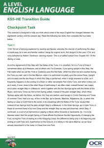 KS5-HE transition guide - Checkpoint task - Activity (DOC, 473KB)