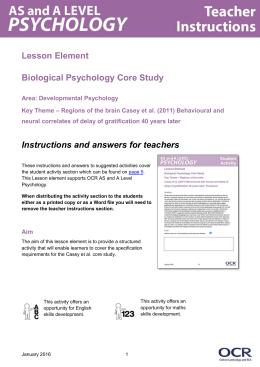 Casey et al procedure - Lesson element (DOC, 2MB)
