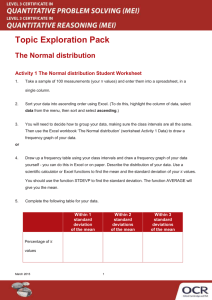 The Normal distribution learner activity (DOC, 1MB)