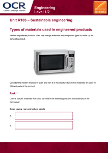 Unit R103 - Types of materials used in engineered products - Lesson element - Learner task (DOC, 10MB)