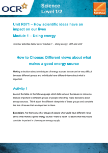 Unit R071 - How to choose - Activity (DOC, 11MB) New