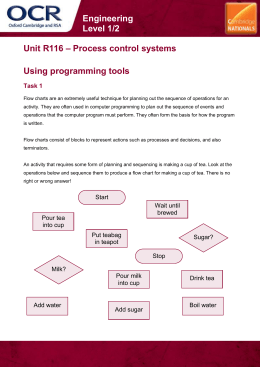 Unit R116 - Using programming tools - Lesson element - Learner task (DOC, 386KB)
