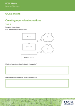 Creating equations activity (DOC, 1MB)