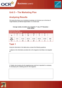 Unit 05 - Analysing results - Lesson element - Learner task (DOC, 242KB) New