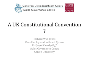 A UK Constitutional Convention?
