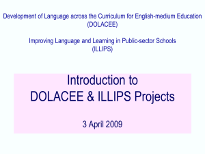 Introduction to DOLACEE ILLIPS Projects