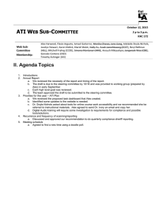 websubcommittee notes 10-12-15