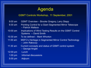 GSMT Overview: