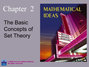 Set Theory Section 2.1