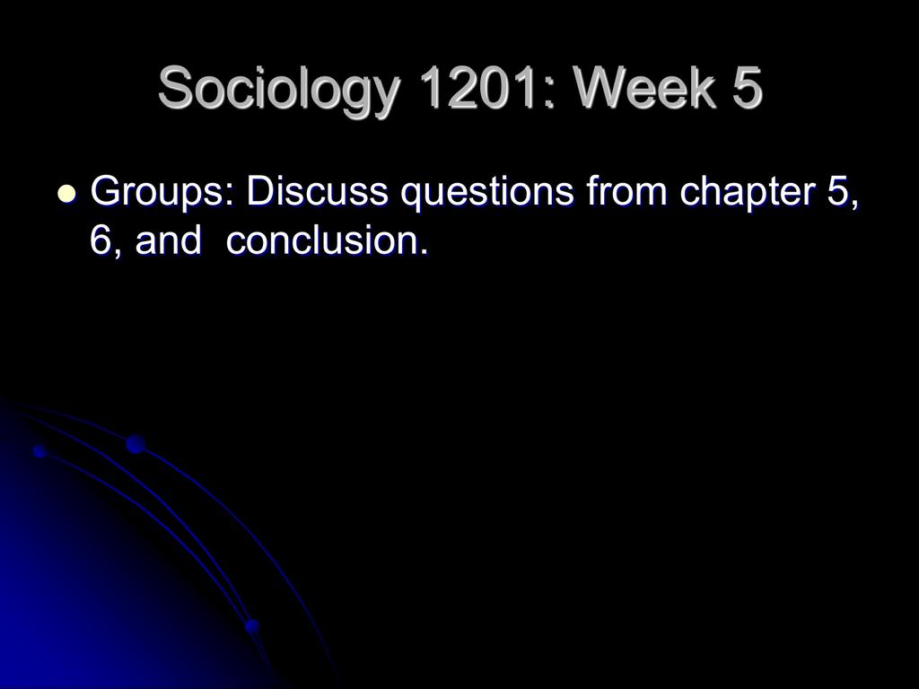 Powerpoint slides week 5