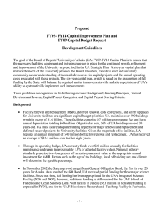 Reference 7 - FY09 Capital Budget Guidelines