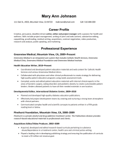 Mary Ann Johnson Career Profile