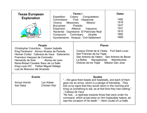 Texas European Exploration
