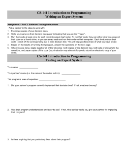 Software Testing Form