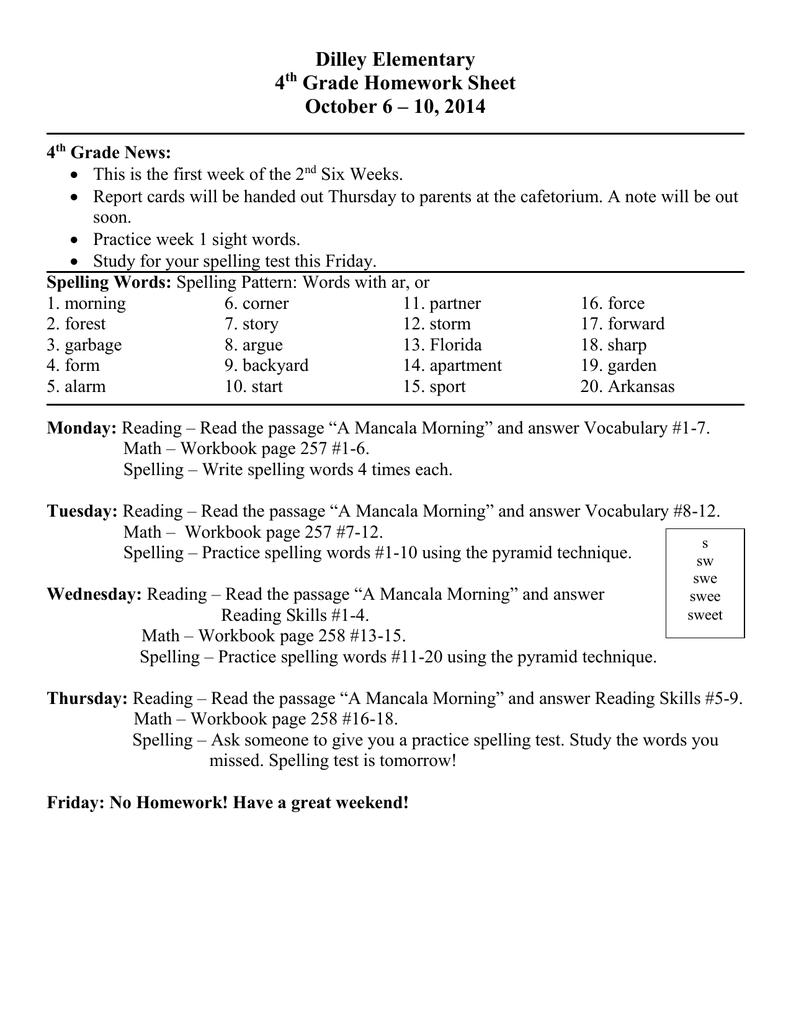 October 6-10_ 2014