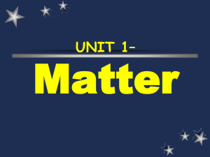 ipc test___Unit 1 Matter-ALL notes_9-10-12