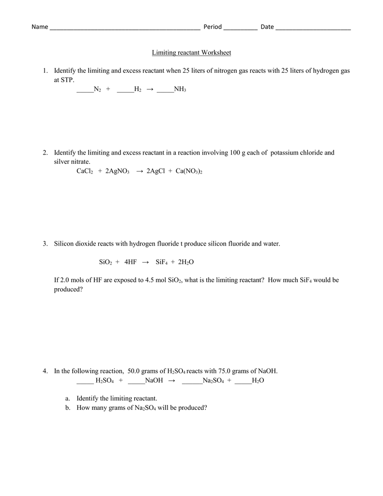 Limiting Reactants and Percent Yield   YouTube additionally  also Solved  Limiting Reactants How Do You Know If There Will B likewise Limiting reactant and percent yield worksheet pdf further Limiting Reactants Unit also 18  limiting reactants theoretical yield and percent yield worksheet also Limiting Reactant Worksheet by Chem Queen   Teachers Pay Teachers besides How to find limiting and excess reactants f  f   2019 furthermore  together with Limiting Reactants Worksheet   Chemical Reactions   Nitrate as well  further Limiting reactant ws together with AQA GCSE chemistry   Unit 3   Lesson 5 Limiting reactant and Excess in addition LIMITING REAGENTS WORKSHEET by archymist   Teaching Resources as well linkkaepin   Limiting reagents and percentage yield problems moreover Stoichiometry Limiting Reagent Worksheet Pdf. on limiting and excess reactants worksheet