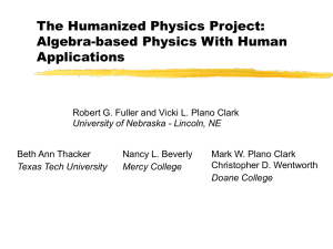 The Humanized Physics Project: Algebra-based Physics With Human Applications