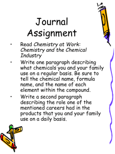 Journal Assignment