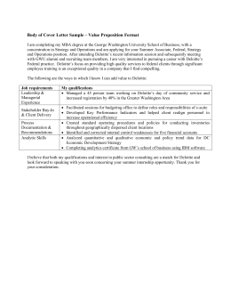 Value Proposition Style Cover Letter Sample