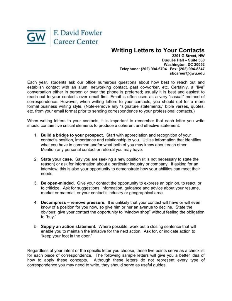 Guidance on writing company profile