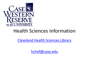 Health Sciences Information - Nutrition
