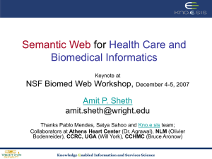 Sheth-Keynote-BiowebMed - NSF Workshop-Dec5.ppt
