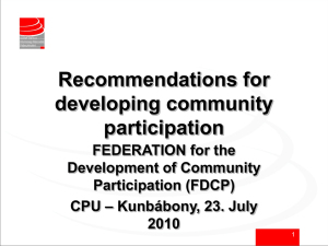 FDCP_recommendations.ppt