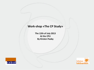 thecpstudy_kirsten_paaby.ppt